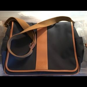 Coach computer/laptop bag